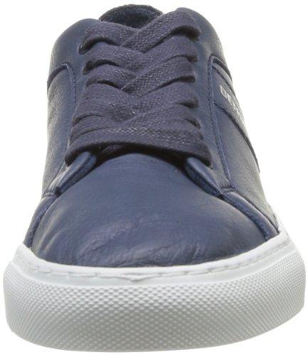 Bensimon Flexys - Zapatillas de cuero para mujer Azul (Bleu (Bleu 532))