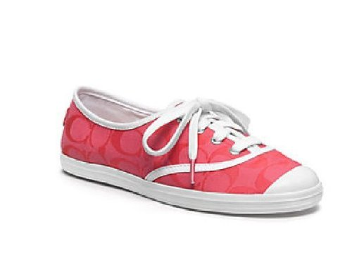 Coach Womens Bellamy Cyclamen Roze Sneaker Schoenen Us 6.5