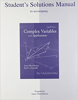 Amazon. Com: complex variables and application student solution.