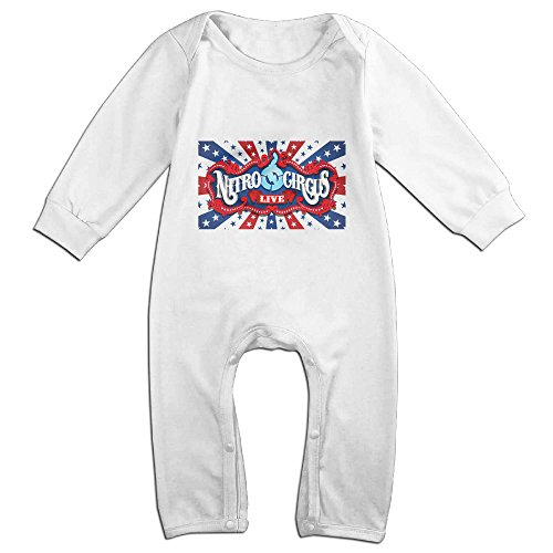 Ellem Cute Nitro Circus Live Outfits For Toddler White Size 6 (Cute Circus Outfits)