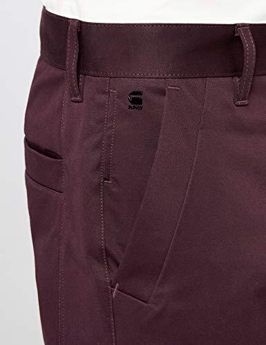 G Raw star Slim Bronson Homme Pantalon Violet 5126 9182 Chino plumeria ZZPqwx5dcr