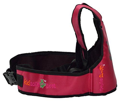 Kidsafe Belt - Two Wheeler Child Safety Belt - Cool Pink Butterfly by Kid-Safe (Image #4)