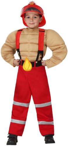 Atosa - Disfraz de bombero para niño, talla 5-6 años (16005 ...