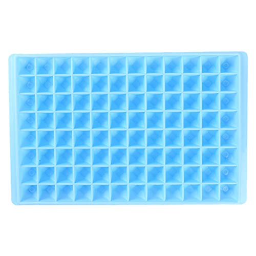 YouCY 96 Diamond Ice Mold Diy Kitchen Chocolate Tool Ice Cube Trays Ice Cube Molds For Whiskey Storage,cocktail,beverages,Blue ()