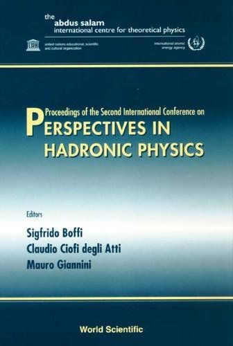 Read Online Perspectives in Hadronic Physics pdf