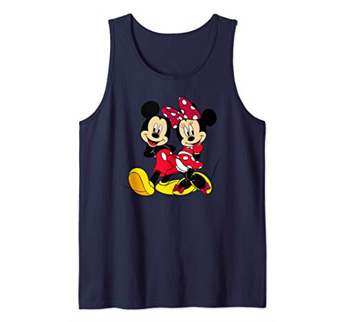 Disney Big Mickey and Minnie Mouse Tank -