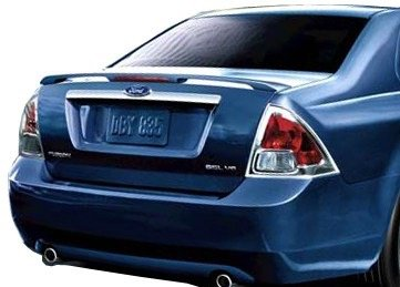 JSP Painted Rear Wing Spoiler Compatible with 2010-2012 Ford Fusion UH Tuxedo Black Factory Style 333041