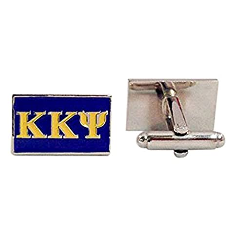Kappa Kappa Psi Fraternity Letter Cufflinks Greek Formal Wear (Ohio State Block O Pin)