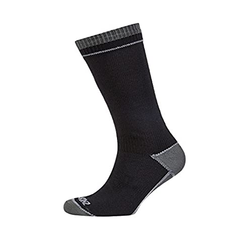 Seal Skinz - Calcetines impermeables de longitud media, color negro - negro, tamaño small: Amazon.es: Deportes y aire libre