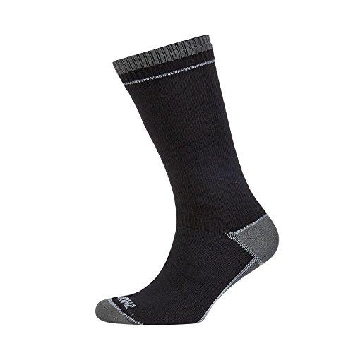 Seal Skinz - Calcetines impermeables de longitud media, color negro - negro, tamaño small: Amazon.es: Deportes y aire libre