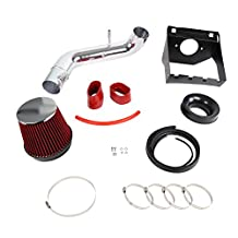 Ford F150 5.0L V8 Cold Air Intake+Red Filter+Heat Shield
