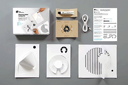 Bare Conductive - Electric Paint Lamp Kit  DIY Electronics - Lamp Making