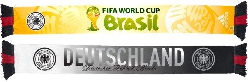 Germany Deutschland Adidas 2014 FIFA World Cup Authentic Team Scarf