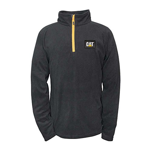 Fleece Pullover, Black, L (Left Chest Logo Pullover Jacket)