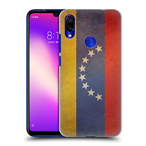 (Head Case Designs Venezuela Venezuelan Vintage Flags Set 5 Hard Back Case Compatible for Xiaomi Redmi Note 7/7 Pro)