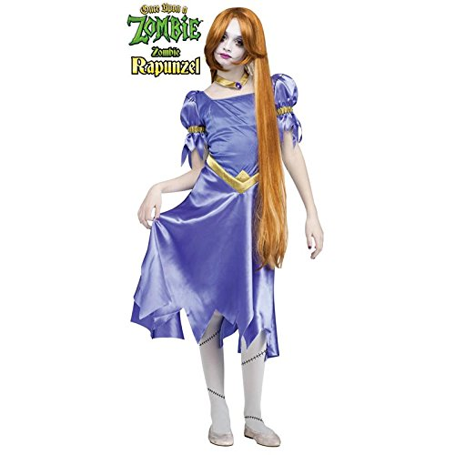Fun World Zombie Rapunzel Child Costume