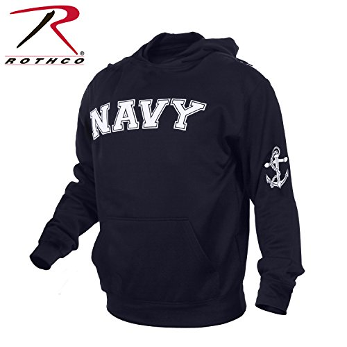 Rothco Navy Pullover Hoodie, Navy Blue, X-Large