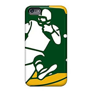Apple Iphone 6 RwN4520dzOH Unique Design Stylish Green Bay Packers Pattern Great Hard Phone Cover -PhilHolmes