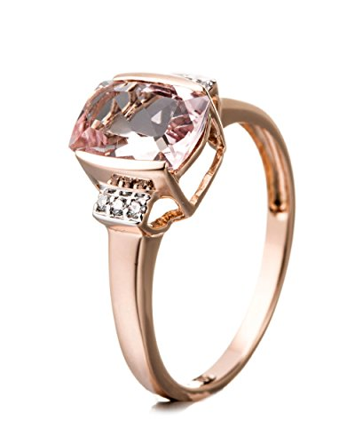 Jaipuri.Instyle by Tricolour - Women's Ring - 14ct (585) rose gold -...