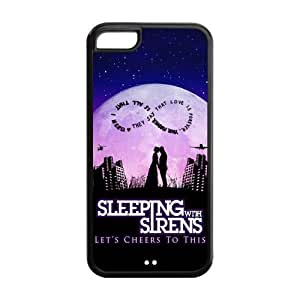 meilz aiaiDanny Store Hard Rubber Protection Cover Case for iPhone 5C - Sleeping with Sirensmeilz aiai