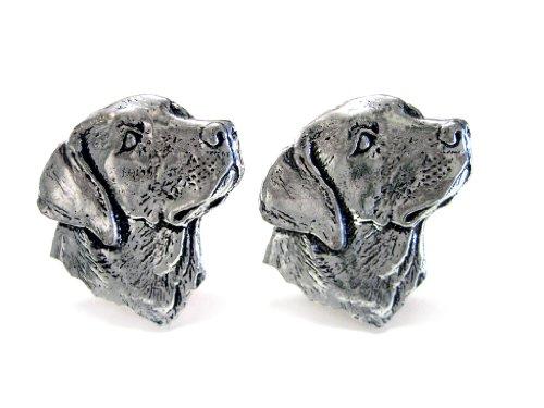 - Kiola Designs Labrador Dog Head Cufflinks
