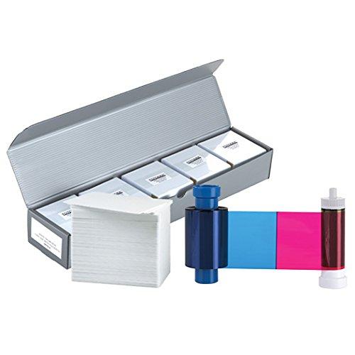 Magicard MA300YMCKO Color Ribbon + 500 PVC Cards