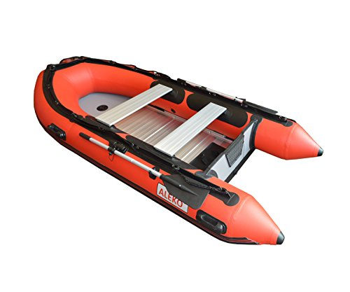 ALEKO® Inflatable Red Boat 10.5 Feet