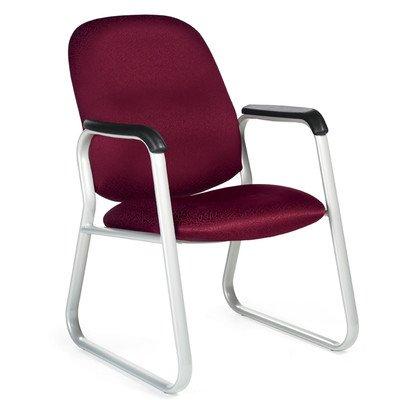 Max Guest Arm Chair Fabric: Boxter Basil