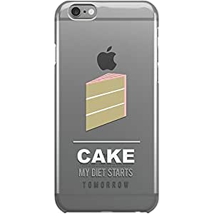 DailyObjects Cake Clear Case For iPhone 6