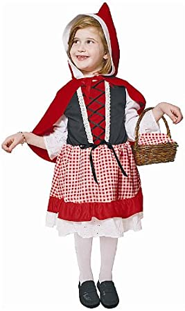 Dress Up America Disfraz de Caperucita Roja para Niños Lil: Amazon ...