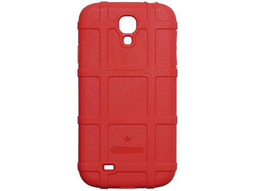 NDZ Performance Come Take it Canon & Star Engraved Magpul MAG458 Field Case Red for Samsung Galaxy S4 - Magpul And Come Take It