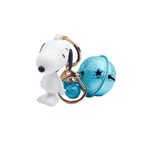 Peanuts Cartoon Figure Snoopying Dog Little Bells Keychain For Backpack Handbag Pendants
