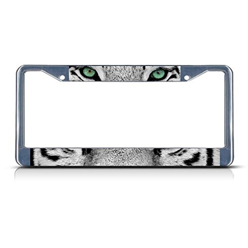 Tiger License Plate Frames Kritters In The Mailbox