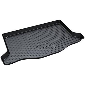 vesul rubber rear trunk cargo liner trunk tray floor mat cover compatible with honda. Black Bedroom Furniture Sets. Home Design Ideas