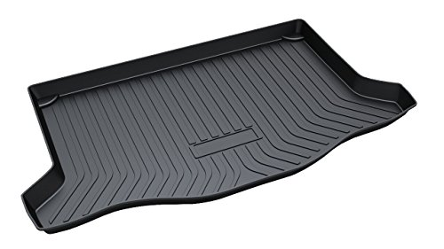 Vesul Rubber Rear Trunk Cargo Liner Trunk Tray Floor Mat Cover Compatible with Honda FIT 2014 2015 2016 2017 2018 2019