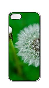 Design Hard Customized case Of iphone 5 cases for women designer - Dandelion painting