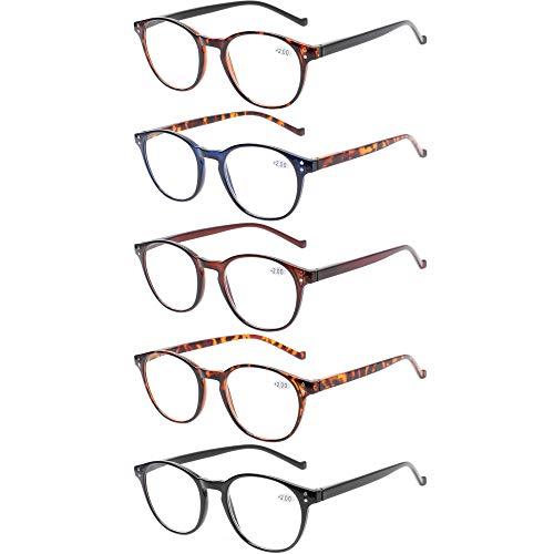 5 Pairs Reading Glasses