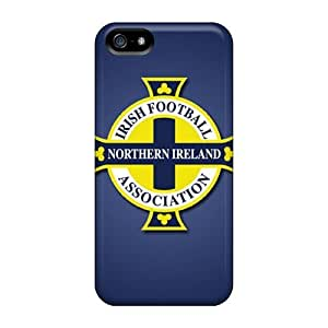 NikRun Fashion Protective Northern Ireland Football Logo Case For Iphone 6 4.7Inch Cover