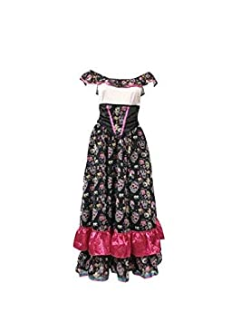 Outfit Des Wardrobe Emmas Comprend La Mexicaine Jour Morts Robe thdCBsQrx