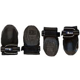 Canine Equipment Ultimate Trail Dog Boots, Medium, Black