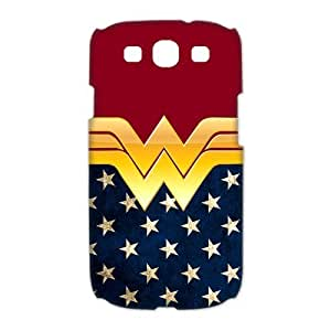 Hipster Wonder Woman Samsung Galaxy S3 I9300 Case Cover American Flag