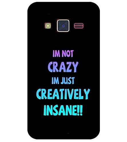 For Samsung Z2 Im Not Crazy Im Just Printed Designer Amazonin