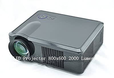 GOWE LED Projector 800x600 2000 Lumens 5inch LCD panel