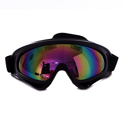 HDE Ski Goggles Snow Glasses UV Protection Eyewear Scratch Resistant Lens for Outdoor Winter Sports Snowboarding