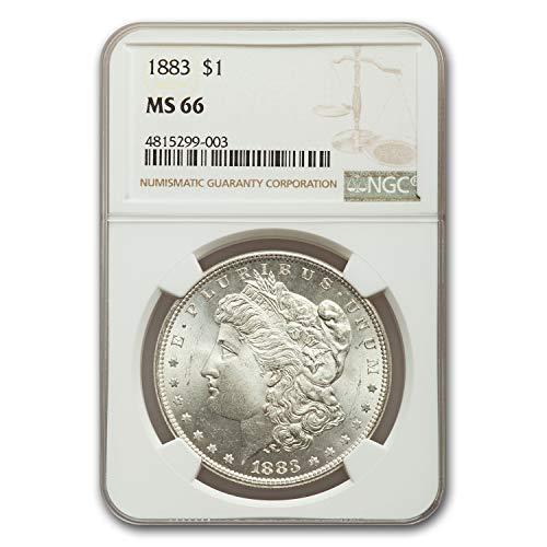 1883 Morgan Dollar MS-66 NGC $1 MS-66 NGC