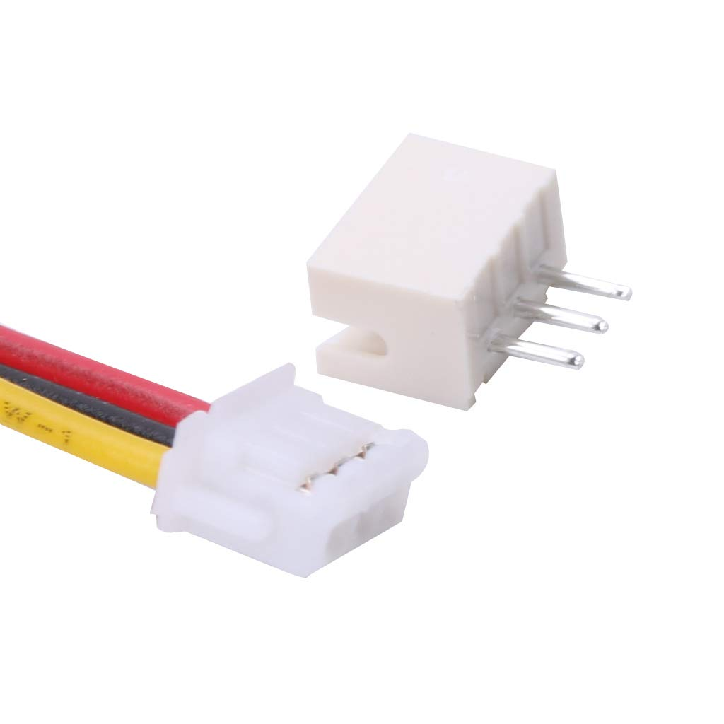 JAGETRADE JST 1.5mm ZH 3-Pin Female Connector with Wire and Male Connector x 10 Sets