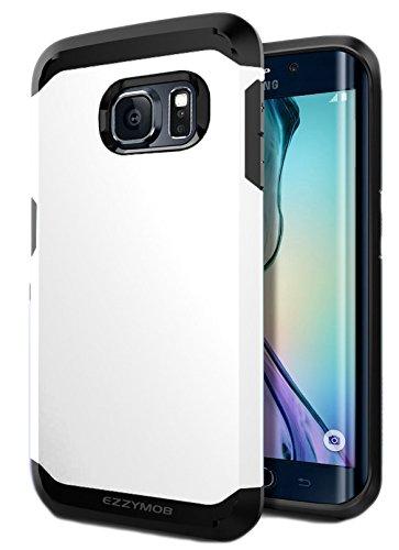 Samsung Galaxy S6 Edge Carcasa, EZZYMOB® Carcasa para Galaxy S6 Edge, resistente a golpes, antiarañazos, Armor Case para Samsung Galaxy S6 Edge., ...