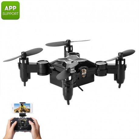 SMAO M1HS Mini Drone - 0.3MP cámara FPV, App Support, WiFi, un ...
