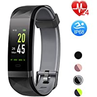 Letsfit Fitness Tracker HR, Color Screen Heart Rate...
