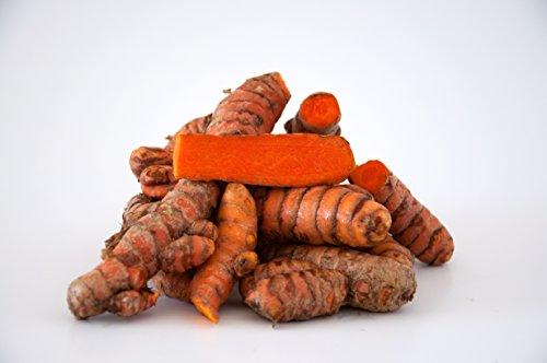 Turmeric Root - Whole Raw Organic Root - 5 Lb. Lots - Top Grade